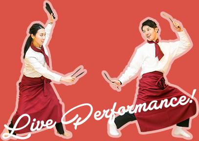 Live Performance!
