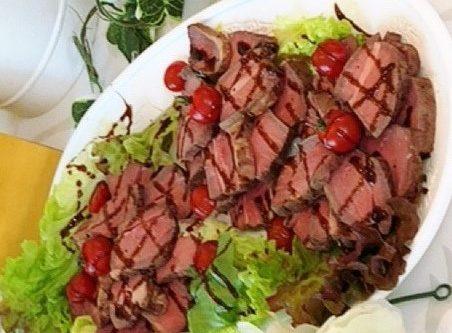 バルサミコ香る 鴨肉ロースト