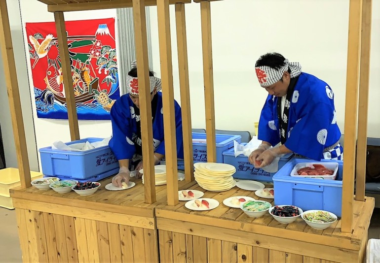 出張寿司職人