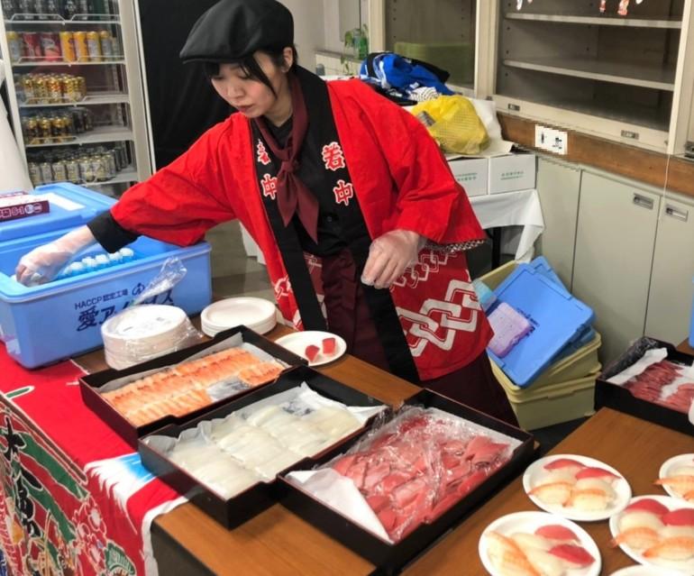 出張寿司職人 ケータリング 東京